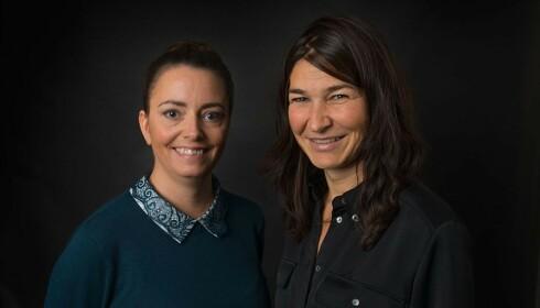 PSYKOLOGSPESIALISTER: Hanna Aardal og kollega Bente Austbø, som begge er psykologspesialister ved IPR. Foto: IPR.
