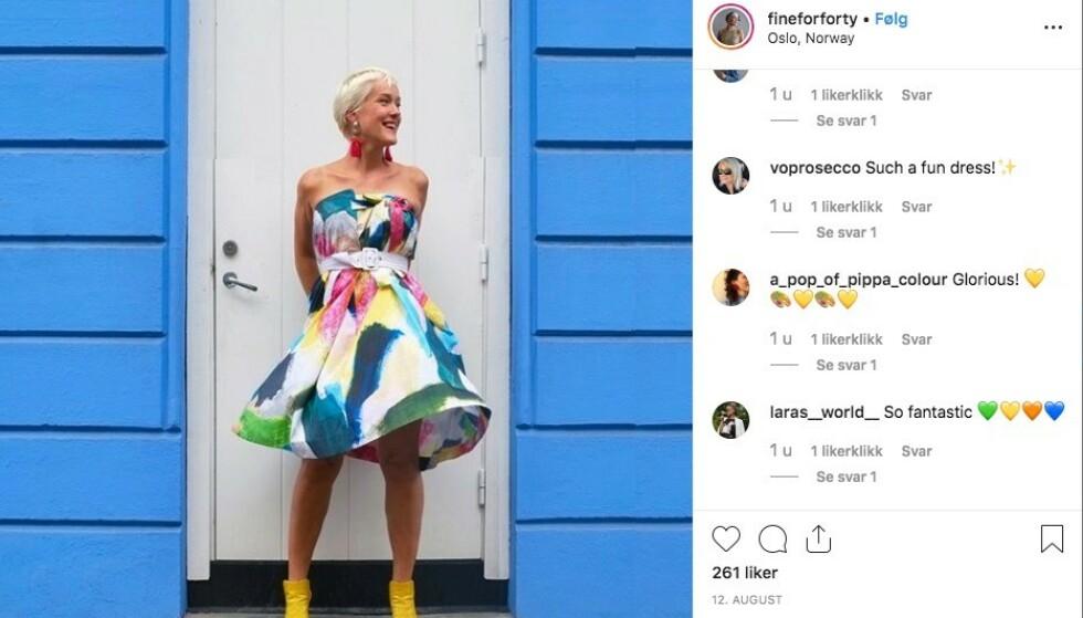 <strong>UTFORDRER:</strong> Hild Andresen Bergère har nesten 4000 følgere på Instagram. Foto: Privat/ Instagram
