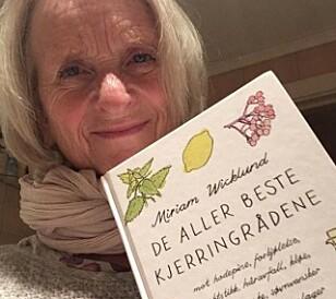 INTERESSERT: Miriam Wicklund er journalist og forfatter av ti bøker om kjerringråd. Foto: Privat.