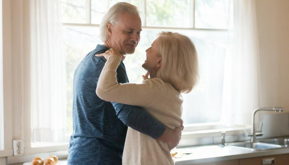 VEKKER LYSTEN: Dans kan føre til et overskudd av lykkehormoner som kan brukes til å vekke lyst, mener sexolog Lene Alexander. Illustrasjonsfoto: NTB Scanpix