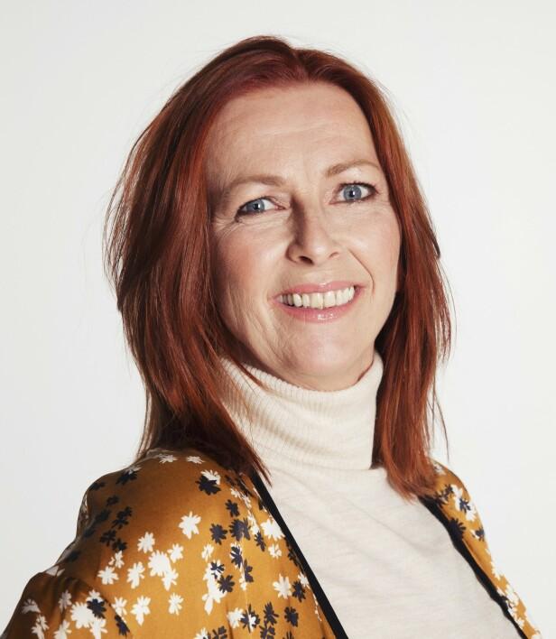 KOBBERRØDT: Denne fargen på håret er helt riktig til Rita, ifølge frisør Giedre Bogu fra Auster Salon & Academy. Foto: Yvonne Wilhelmsen