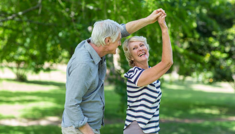 INSPIRERENDE DANS: Dans er ikke bare gøy, det kan fort lede til mer morro. Foto: Shutterstock