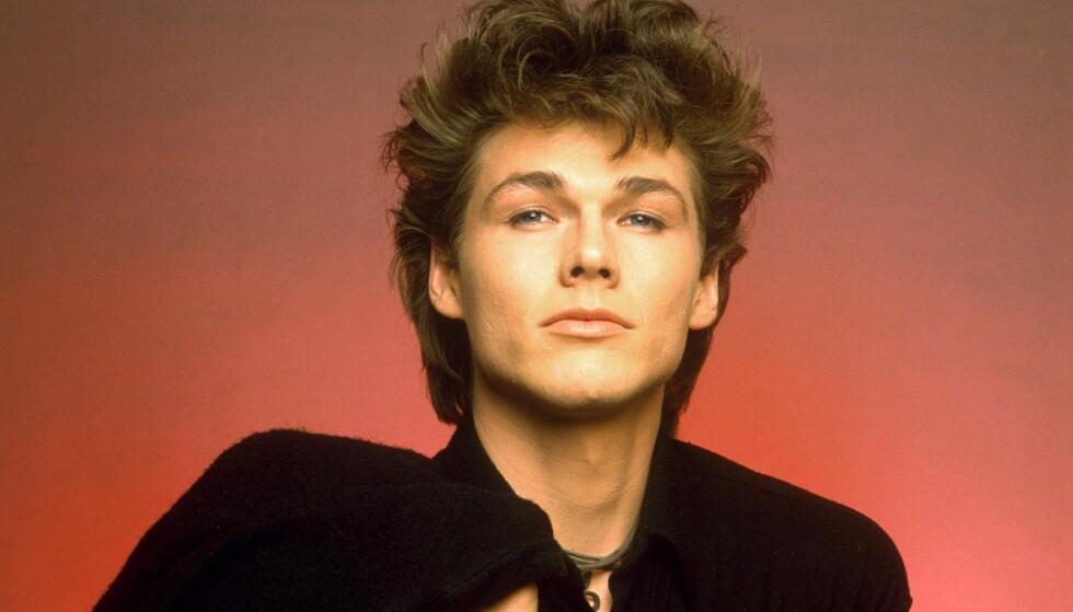 POPULÆR: Morten Harket og A-ha ble fotfulgt av livvakter, det var ville tilstander da bandet ble verdenskjent på 80-tallet. Her er Harket fotografert i 1986. Foto: Gunter W Kienitz/REX/ NTB Scanpix
