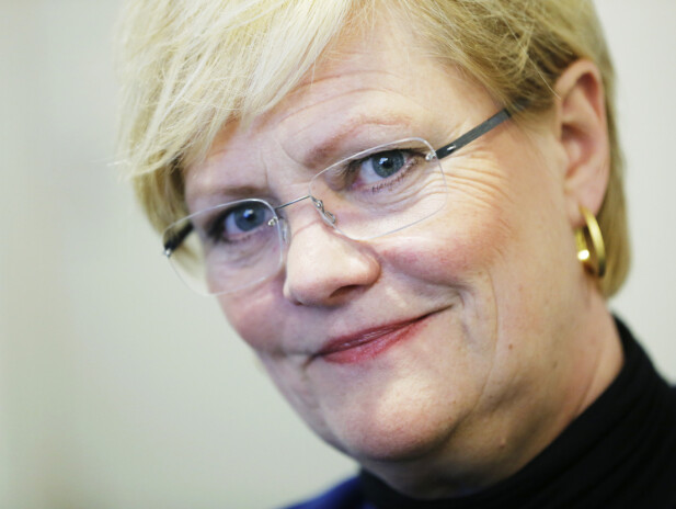 Kristin Halvorsen. Foto: NTB Scanpix.