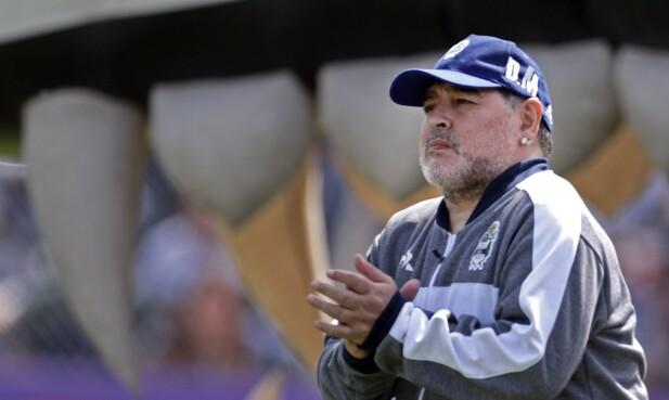 Diego Maradona. Foto: NTB Scanpix.