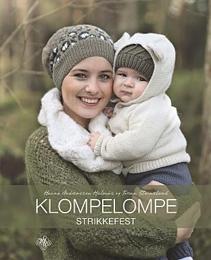 BOKA: Oppskriften er hentet fra boka Klompelompe Strikkefest som kom i august på JW Stenersen forlag.