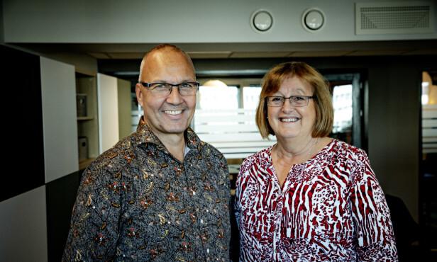 Tormod og Elisabeth tror de har flere gode år foran seg i arbeidslivet. Foto: Nina Hansen/Dagbladet