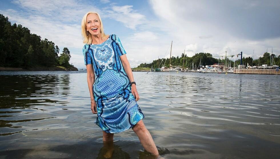 70 NESTE ÅR: I august 2020 fyller Karen-Marie Ellefsen 70, og får ikke lenger jobbe i statskanalen. Foto: Tor Lindseth