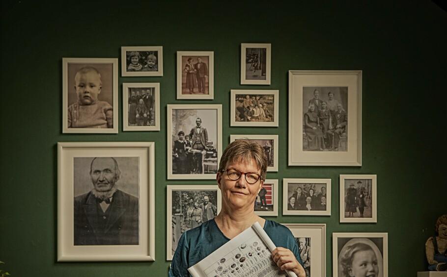 <strong>FAMILIEHISTORIE:</strong> Karen Bendix Larsen har funnet ut mye om sin norske stamfar og familien som bodde i Nyhavn i København. Foto: Claus Peuckert