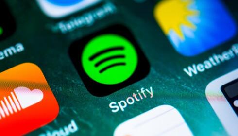 <strong>SPOTIFY:</strong> Har du Android og laster ned Spotify-appen får du tilgang til et gigantisk bibliotek med musikk og podcaster. Foto: NTB Scanpix
