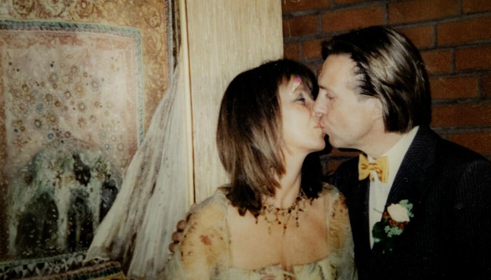 <strong>GIFT:</strong> Etter å ha kjent hverandre i flere tiår ble Jan og Eva stormende forelsket i 2001. I 2003 giftet de seg. Foto: Privat/Nina Hansen / Dagbladet