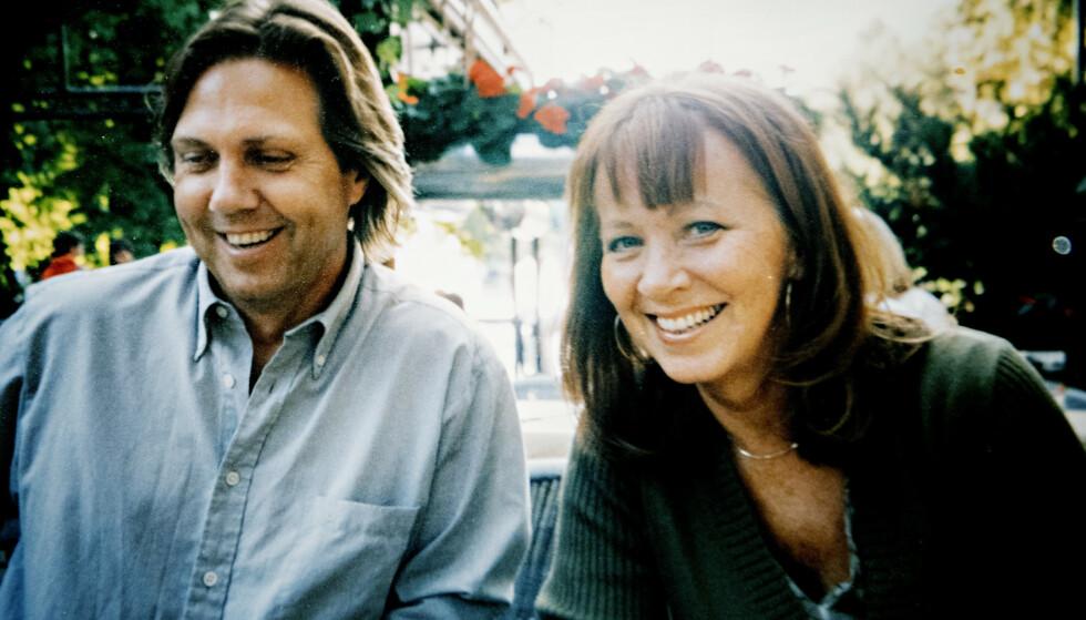 <strong>NYTT PAR:</strong> Eva synes Jan lignet på Paul McCartney da de forelsket seg i 2001. - Han var den med den gode latteren og de vakre øynene. Foto: Privat/ Nina Hansen / Dagbladet