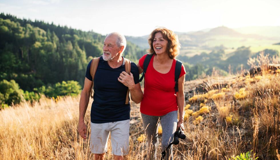 LENGRE OG BEDRE LIV: Endret livsstil har økt levestandarden. Norske seniorer i dag er friskere både fysisk og psykisk enn før. Foto: NTB Scanpix/ Shutterstock