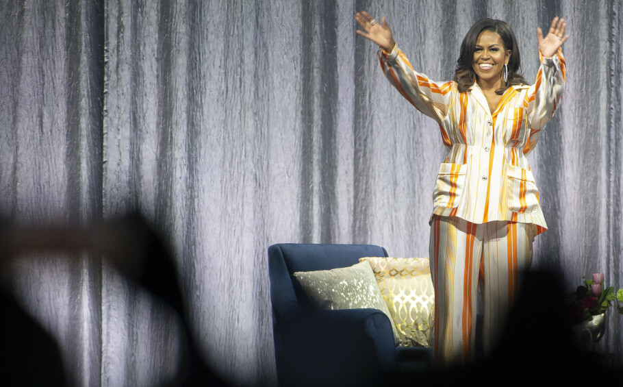 OPPTATT AV HELSE: Tidligere førstedame Michelle Obama mener kvinner må bli flinkere til å sette egen helse på prioriteringslista. Foto: NTB Scanpix