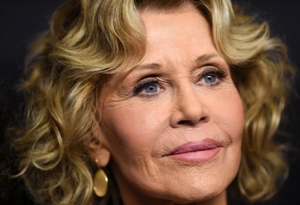 81 år og skjønnhetsmodell. Det er ikke verst av evig aktuelle Jane Fonda! Foto: Scanpix