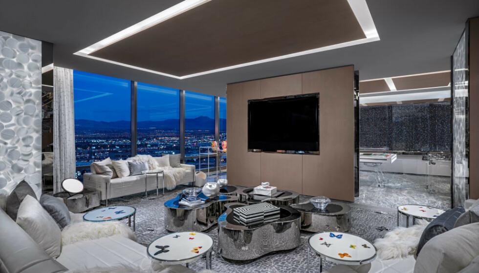 VERDENS DYRESTE: Hotellet Palms Casino Resort huser verdens dyreste hotellrom. I artikkelen under kan du se flere bilder! Foto: Palms Casino Resort.
