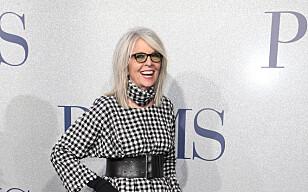 Diane Keaton er et stilikon for kvinner langt under sin egen alder. Foto: Scanpix