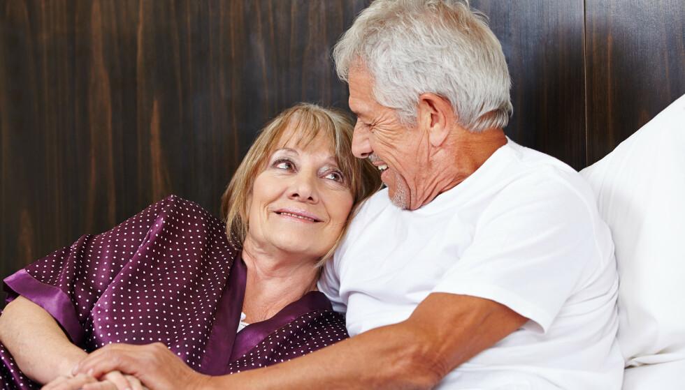 GODT SEXLIV? Det kan være flere årsaker til at man ikke får ereksjon sammen med partneren. Det er ikke alltid Viagra er løsningen på problemet. Foto: Shutterstock / NTB Scanpix