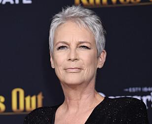 EVIGUNG: Jamie Lee Curtis (58) har nesten alltid hatt kort hår, og hun er ikke mindre flott når det er grått. Foto: Scanpix