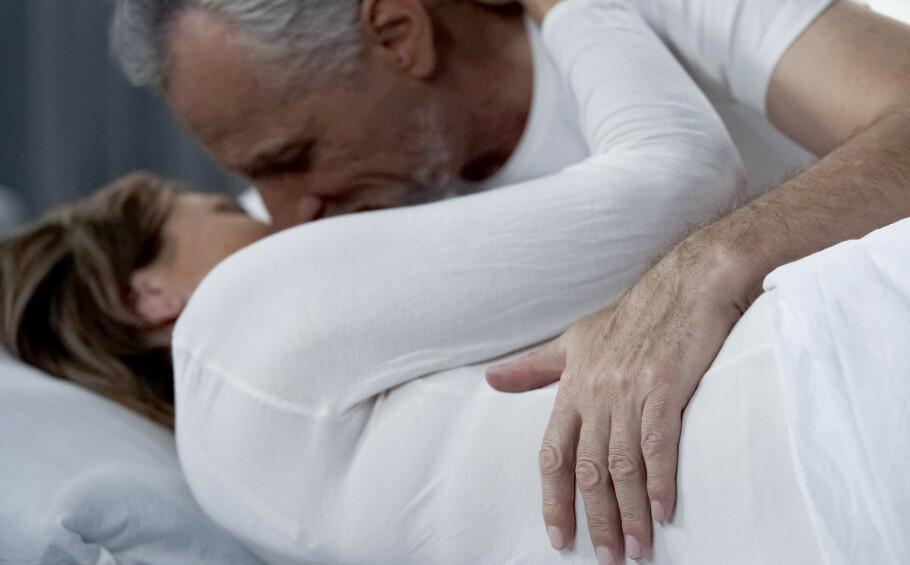 GOD SEX: Det er ikke noe å tvile på: god sex, uavhengig av alder, bedrer livskvaliteten flere hakk, ifølge ekspertene. Foto: NTB Scanpix