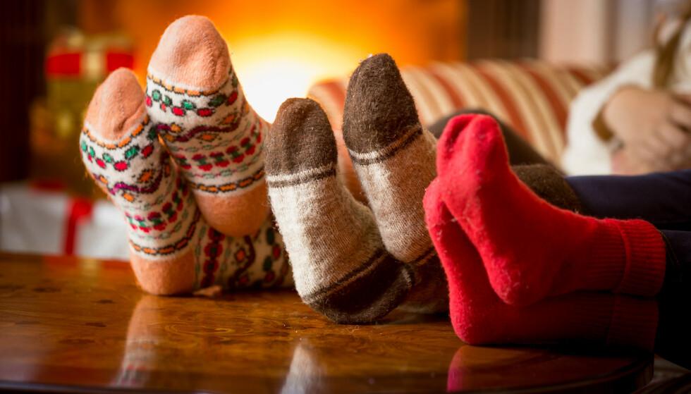 ROLIG JUL: - Åpne for den utenkelige tanken at familien din kan ha ønsker som ikke involverer deg, skriver Vi.nos redaksjonssjef Birgitte Hoff Lysholm i denne kommentaren. Foto: Shutterstock