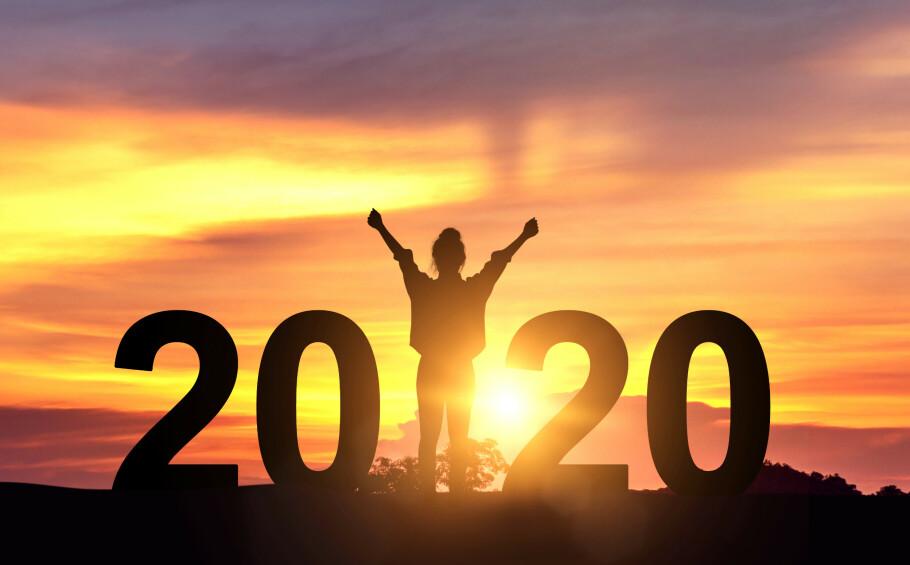 Nytt år, nye muligheter, og for mange av oss: Noen forsetter eller mål. Men hvordan få dem til å vare? Foto: NTB Scanpix/Shutterstock