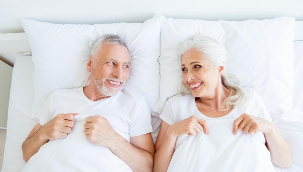 BLUFERDIG: Eldre generasjoner er litt unnskyldt om de synes det er vanskelig å snakke om sex, siden det ikke var vanlig før i tiden, skriver vår spaltist. Foto: Shutterstock/ NTB Scanpix