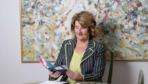 Bente har skrevet bok om sine sterke formødre, og holder jevnlig foredrag om å være hjertesyk. Foto: Ellen Johanne Jarli