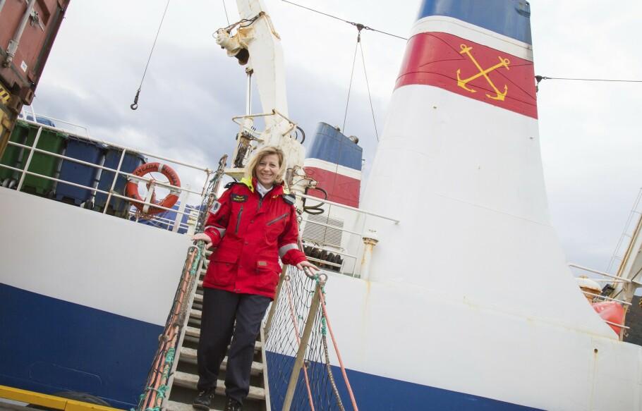 Sveitsiske Margrith Ettlin (50) hadde en drøm: «En dag skal jeg bli los i Norge». Foto: Siv-Elin Nærø