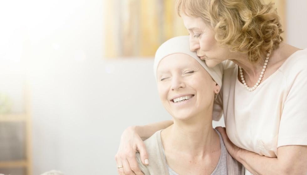 GODE NYHETER: Stadig flere får den gode beskjeden om at de er erklært frisk fra kreft. Foto: Shutterstock/NTB Scanpix