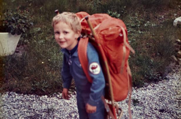 Gaute var et etterlengta barn. Før han kom til verden, hadde foreldrene mistet to barn seint i svangerskapet. Foto: Privat