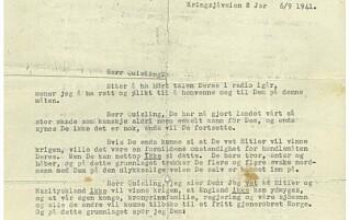 Ingrids brev fikk nazistene til å se rødt