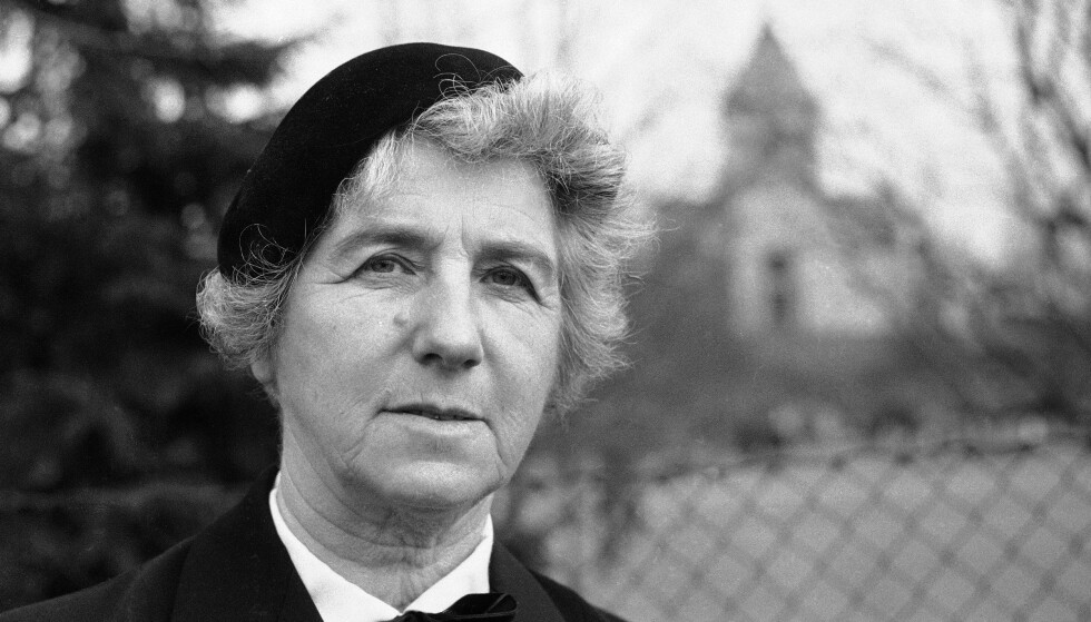 SINT: Ingrid Bjerkås klarte ikke å la være å vise sin motstand mot nazistene i Norge. Til slutt ble hun sendt til den tyske fangeleiren Grini. Foto: NTB Scanpix