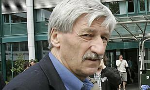 Bjørn Hansen er tidligere politisk journalist i NRK. Foto: Heiko Junge/SCANPIX