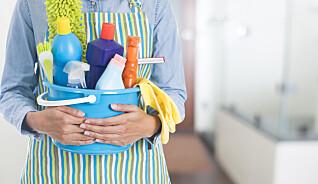 Riktig husvask kan hindre smittespredning