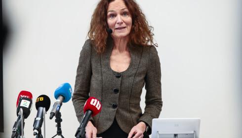 Direktør i Folkehelseinstituttet Camilla Stoltenberg. Foto: Lise Åserud/NTB Scanpix