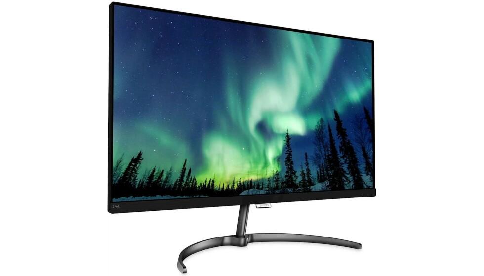 """Med 27"""" 4K UHD-monitor kan du se kollegaene dine i 4k - Philips 276E8VJSB"""
