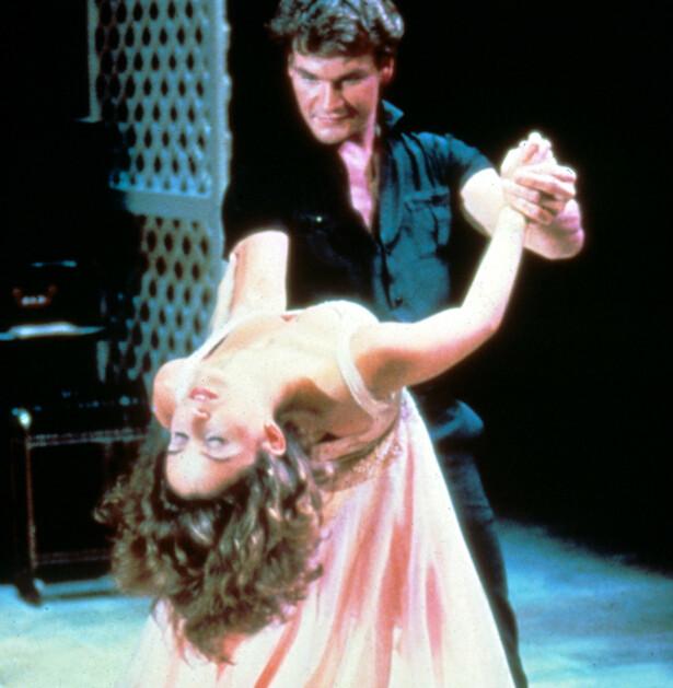 POPULÆRE: Patrick Swayze og Jennifer Grey ble verdensberømte da Dirty Dancing kom i 1987. Foto: NTB Scanpix Shutterstock