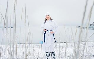 Da Liina begynte å bade i minusgrader, forsvant plagene