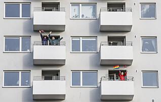 «Endelig har naboene begynt å hilse på meg, etter 23 år i samme nabolag! Jeg håper ikke de slutter med det etter dette»