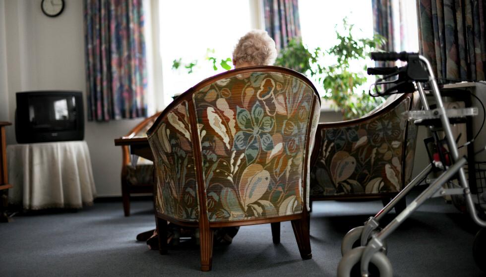 ISOLERT: De eldste er blitt isolert etter at coronaviruset kom til Norge. Isolasjon kan ha store konsekvenser for helsa. Foto: Frank May/NTB Scanpix