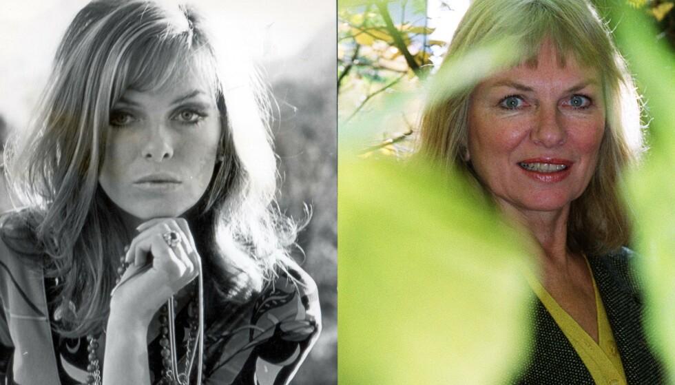 Julie Ege fotografert i forbindelse med innspillingen av James Bond i 1968 og fotografert i 1999 i Oslo. Foto: Phillip Jackson REX Heiko Junge NTB SCANPIX
