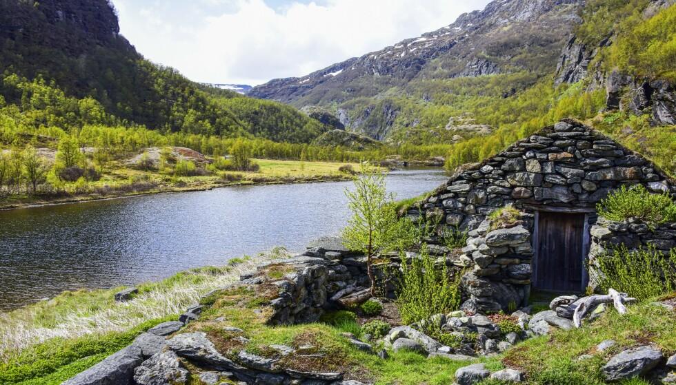 Nilsesetra er et fint sted for en rast. Foto: Torild Moland