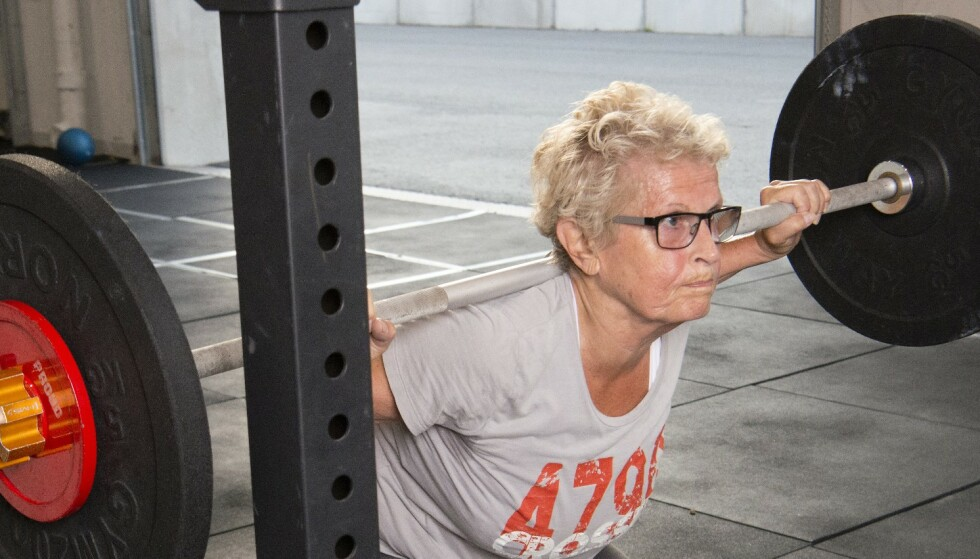 Oldemor trener crossfit seks dager i uka