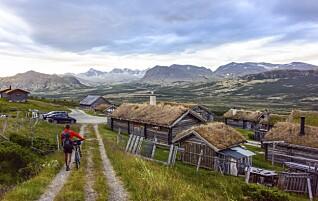 På to hjul gjennom tre nasjonalparker på fire dager