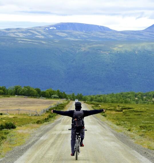 VARIERT: Turen opp fra Grimsdalen er drøy, men desto bedre er nedfarten til Dovre.