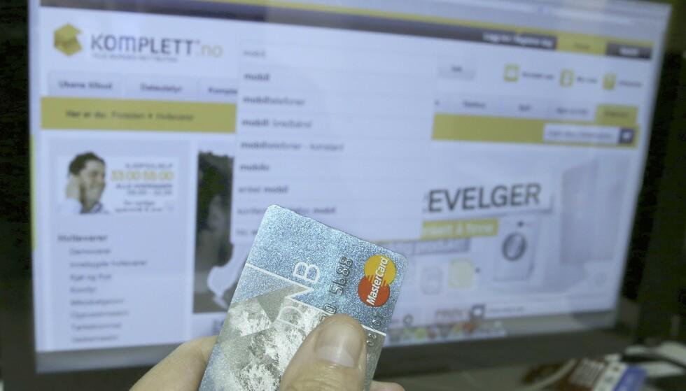 - Ikke betal med vanlig bankkort på nett