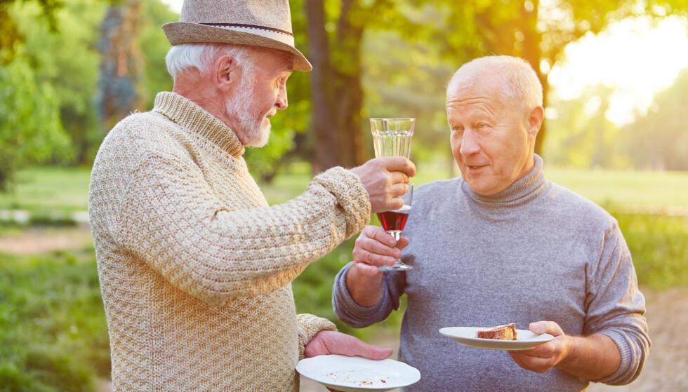 Eldre av begge kjønn har senket kravene til seg selv. Eldre menn har oftest ikke opplevd krav til utseende i det hele tatt. Men det er i ferd med å endres for neste generasjon. Illustrasjonsfoto: Shutterstock/NTB Scanpix