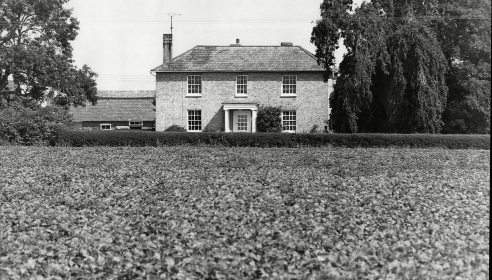 ÅSTED: White House Farm ble åsted for drapet på den velstående familien Bamber i 1985. Foto: REX NTB Scanpix