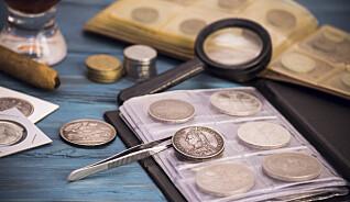 Mynt verdt 25 millioner kroner forsvant